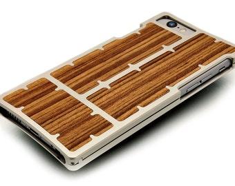 EXO23 Silver Aluminum Teak for iPhone 6 Plus