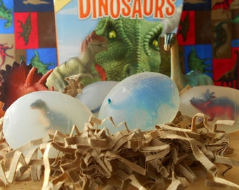 Dinosaur Egg Soap  3.75 , Party Favors, Dino Soap, Dinosaur Soap, Dinosaur Party Favors, Egg Soap, Egg favors, Palentology, Teacher Gift,