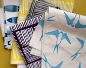 Screen Printed Fabric Scrap Pack