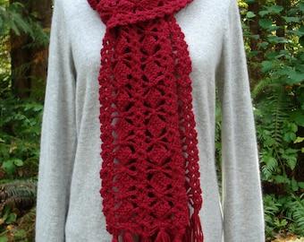 Out-Of-The-Box Scarf – PA-308 - Crochet Pattern PDF