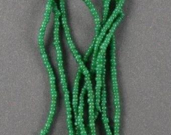 Vintage African Belt Beads - Green