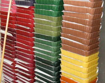 35 plus pounds of recycled wax delivered within the continental U.S.