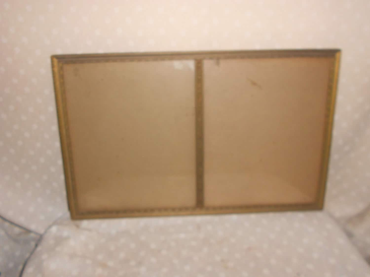 wood picture frames 16 x 10 glass vintage by