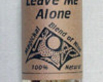 Leave Me Alone Magical Oil - Occult Pagan Wicca Witchcraft Candleburning Magick Spells
