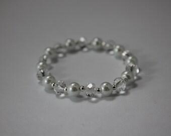 Custom Flower Girl Wedding Bracelet