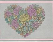 Happy Heart Note Card
