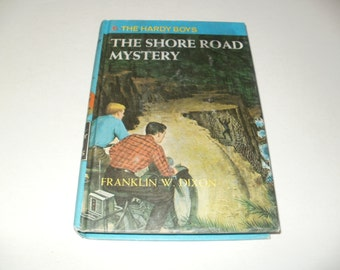The Hardy Boys, The Shore Road Mystery, by Franklin W Dixon, Childrens Book, Mystery Book, Vintage 1964, Hardcover Book, Collectible Book