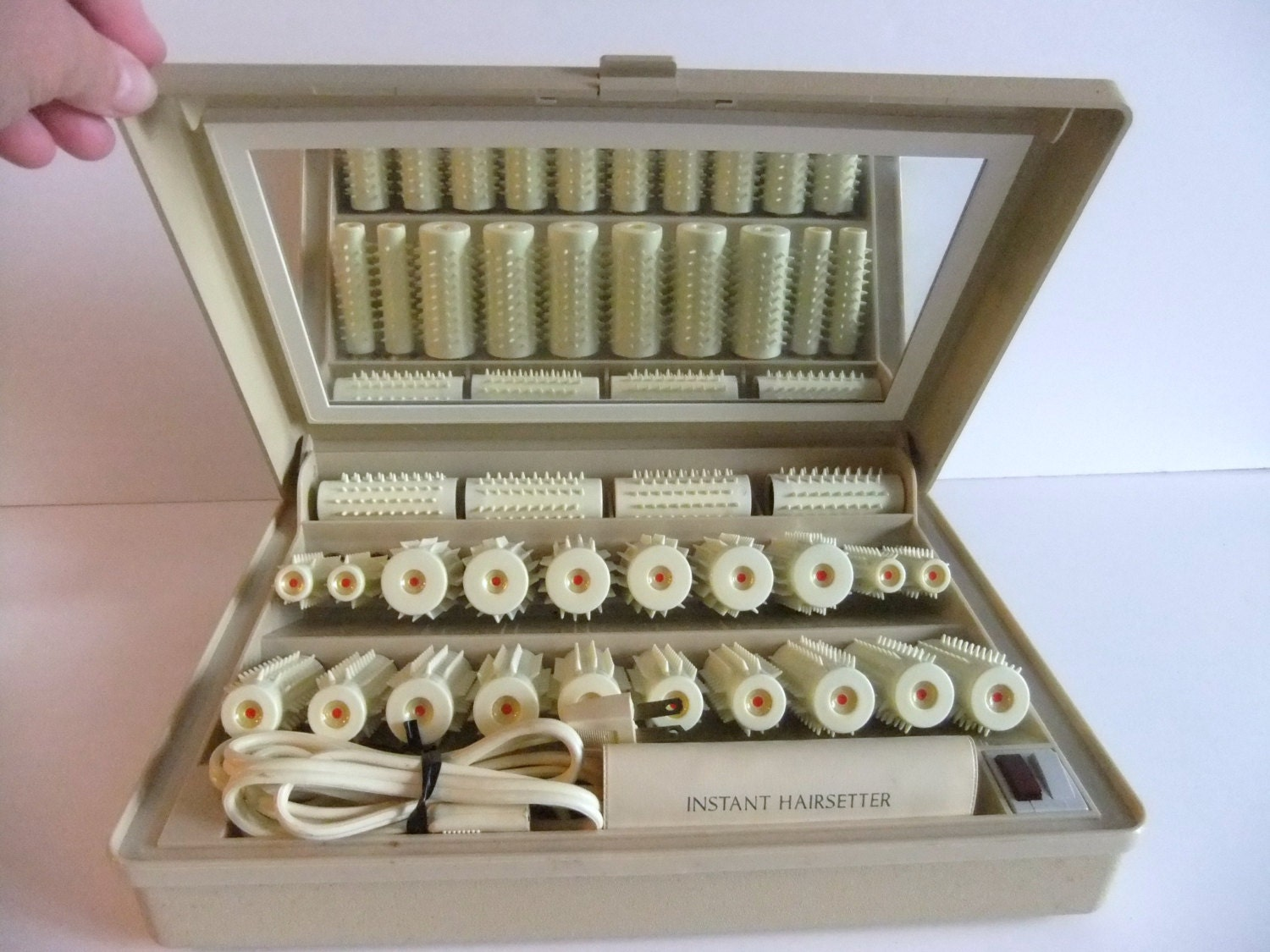 Vintage Instant Hairsetter By Clairol Electric Rollers Model