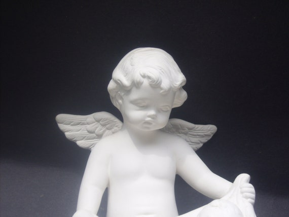 items similar to angel and baby jesus ready to paint. Black Bedroom Furniture Sets. Home Design Ideas