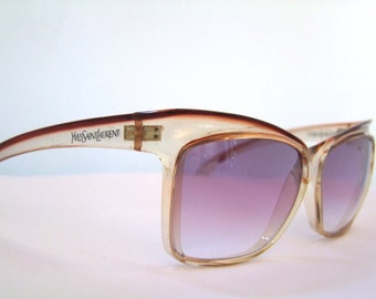 Yves Saint Laurent YSL Sunglasses 8985 France New Gradient Lenses Kouros
