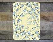 "Paper Airplanes - 5""-7"" Giclée Print"