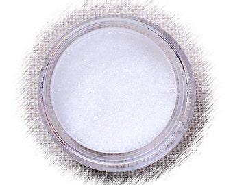 White Disco Glitter, Non Edible Confectionary Glitter, White Gumpaste Glitter, Fondant Glitter, Extra Fine White Glitter, White Pixie Dust