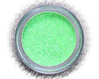 Heat Green Disco Dust Glitter, Mint Green Glitter, Non Edible Confectionary Glitter, Fondant Glitter,Gumpaste Glitter, Fondant Glitter (5 g)