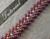 Beading Tutorial pack, St. Petersburg Stitch Workshop, Step by Step with Detailed Diagrams