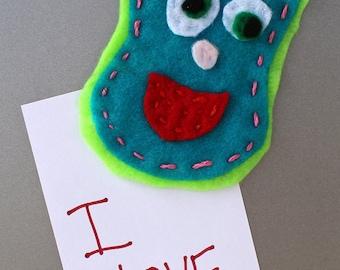 Gertrude The Monster Refrigerator Magnet