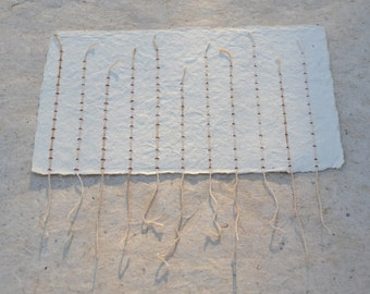 Stitch - Paper and String Collage