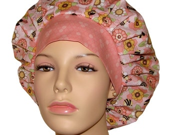 Scrub Hats - Let It Bee Floral Toss