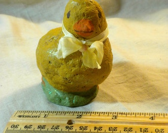 Vintage Style Chalkware Chick