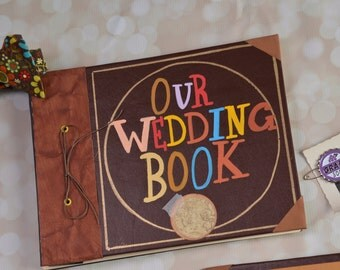 Our Adventure Book - ADVENTURE EDITION Wedding guest book