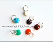 Little Gems Jewel Tones Stitch Markers (Set of 6)