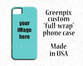 Personalized iPhone 6 6S case, customized iPhone 6 6S Plus cover, create your own Samsung Galaxy S5 S6 S7 case, your photo or artwork,