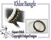 Khloe Bangle - Tila Beading Pattern Tutorial