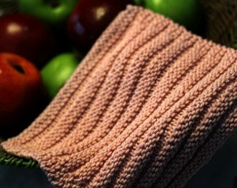 KNITTING PATTERN-Speed Bumps, Dishcloth Pattern