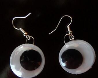 SALE Store Closing - Googly Eye Fun Double sided Earrings #D5