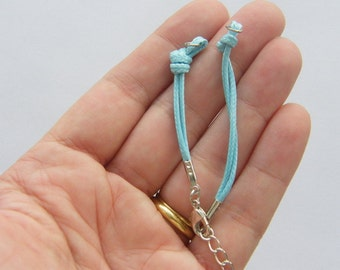 2 Blue bracelets 14.3cm