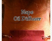 Nape Oil Diffuser - LOTS OF COLORS! Attaches to Any Necklace to Apply and Diffuse Essential Oils!