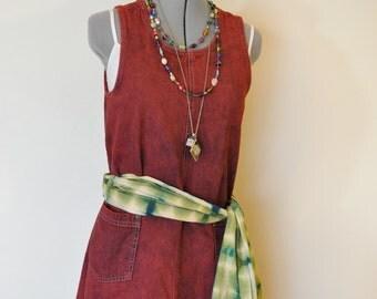 Cherokee denim dress