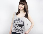 SALE Winchester Crop Tank - Fits Many Sizes Gift - Flowy Women Hipster Girls Teen Shirt - Supernatural Impala Family Business