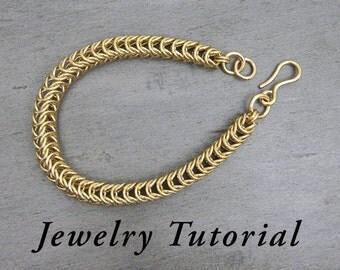 Inca Puño Bracelet Jewelry Tutorial