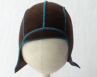 Polar fleece Aviator hat for kids and babies