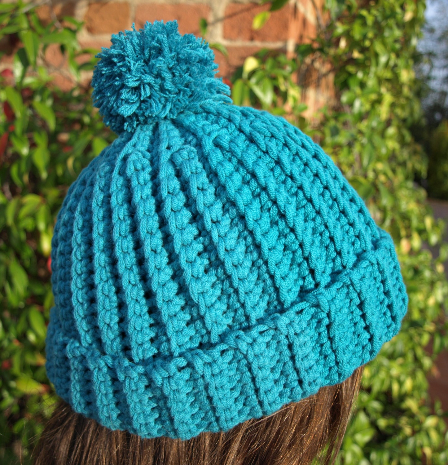 Crochet Hat Patterns Beanie : Crochet Beanie PATTERN Crochet hat pattern Easy by berrykidz