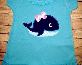 Summer Whale Dress