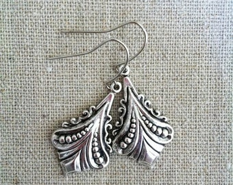 Earrings Dangle, Earrings vintage silver ox perfect Gift For Her, mom, holidays, Christmas, Bridesmaid...