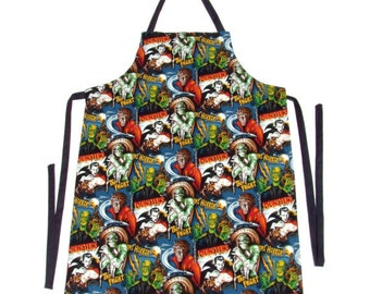 Men's  Monsters Apron