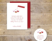 Valentine's Day, Pregnancy Announcements, New Baby Cards, Expecting Baby Cards, Winter Baby, Baby Announcements, Baby