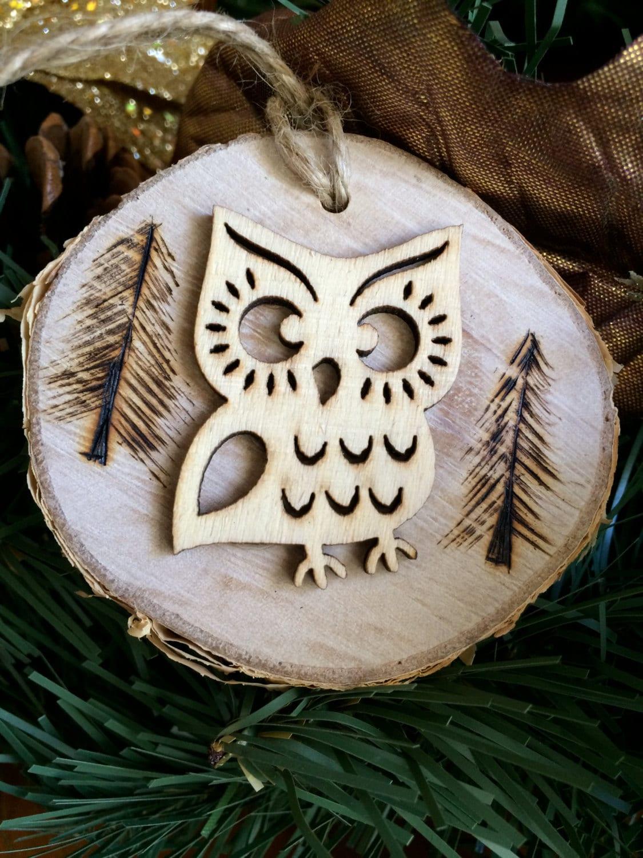 Owl Ornament, Owl Always Love You Ornament, Christmas Tree Ornament, Wreath Ornament