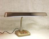 Mid-Century Desk Lamp , Task Lighting , Office Lamp , Table Top Lamp , Portable Lighting , Gooseneck lamp , Lamp , Mid-Century Lighting