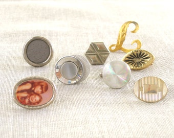 Cuff Links , Single Cuff Links , Collection , Art Supplies , Jewelry Supply , Assortment , Mens Jewelry , Supplies , Jewelry