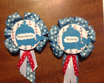 Baby Shower Badge