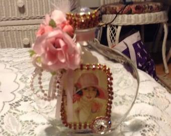Jeweled potion bottle