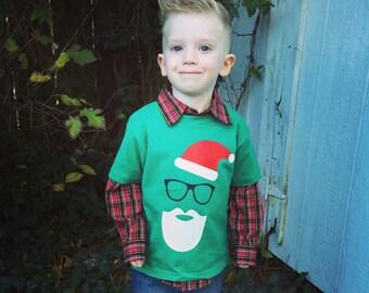 Santa Beard Onesie/Shirt