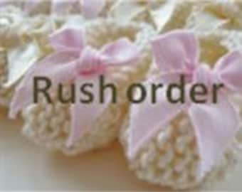 RUSH ORDER: faster production for your order