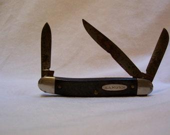 Pocket Knife, Vintage Pocket Knife, Made In The USA