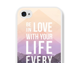 iPhone 6 Case Inspirational Phone Case Boho iPhone 6s Case Quote iPhone Case iPhone 5s Case iPhone 5c Case iPhone 6 Plus Case Be in Love