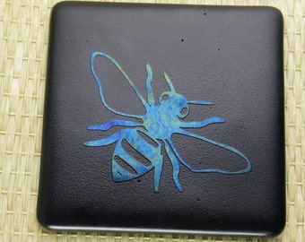 Honey Bee Coasters set of two