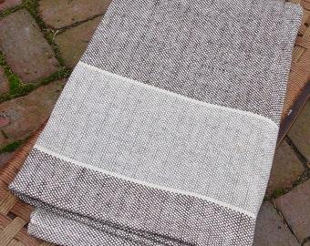 Hand Woven Merino Wool Blanket